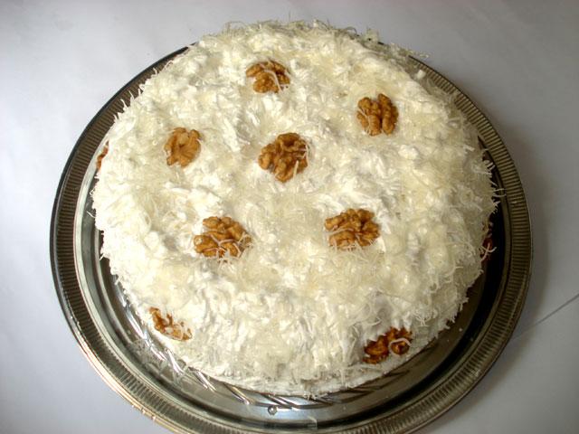 torta de nozes coco Torta de Nozes