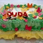 Torta Bolo das Fadinhas - Duda