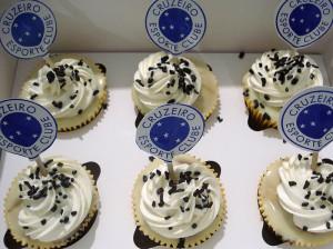 Cupcakes do Cruzeiro
