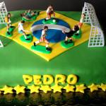 Bolo Futebol Copa do Mundo Brasil