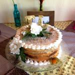 Bolo Naked Cake de Noivado