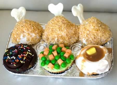 Cupcake Almoço