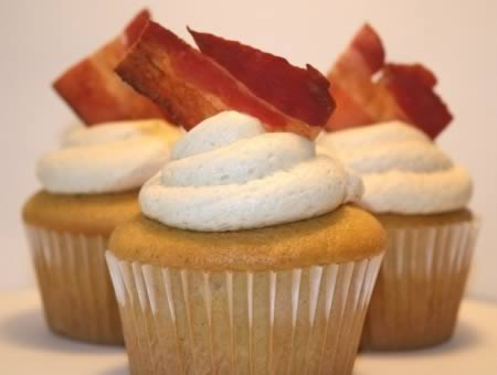 Cupcake Bacon