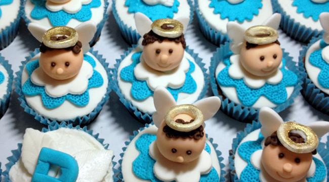 cupcake batizado 650x360 Bolos e Tortas