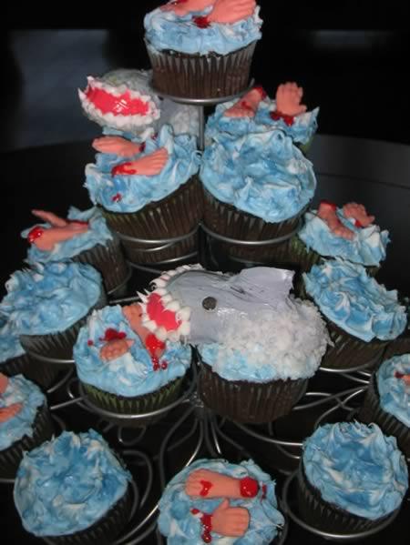 Cupcake Tubarão