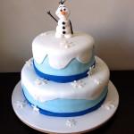 Bolo Olaf Frozen