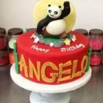 Bolo Pasta Americana - Kung Fu Panda